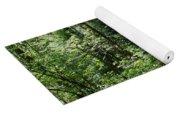 Deep Woods Road Yoga Mat