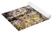 Deer In The Wood Yoga Mat