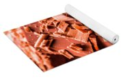 Delicious Bars And Chocolate Chips  Yoga Mat
