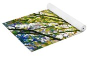 Detailed Tree Branches 1 Yoga Mat