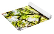 Detailed Tree Branches 2 Yoga Mat