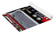 Dials And Hoses On Fire Truck Yoga Mat