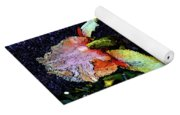 Digital Painting Pink And Yellow Iris 6758 Dp_2 Yoga Mat