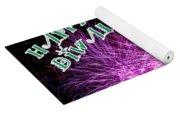 Diwali Greetings Card Yoga Mat