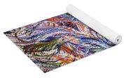 Dizzy Feathers Yoga Mat