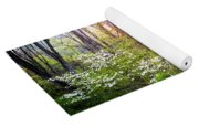 Dogwoods In The Forest Yoga Mat