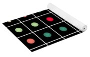 Dotted Grid Yoga Mat