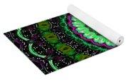 Dotted Wishes No. 6 Kaleidoscope Yoga Mat