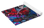 Dove Of  Many Colors Yoga Mat