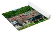 Downtown Augusta, Maine Yoga Mat