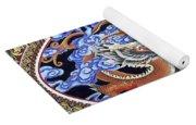 Dragon And Bird Yoga Mat