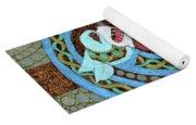 Dragon And The Circles Yoga Mat