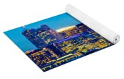 Dramatic Boston Skyline  Yoga Mat