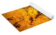 Dreamy Autumn Day Yoga Mat