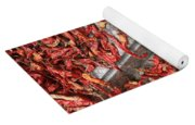 Dried Chili Peppers Yoga Mat