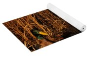 Ducks At Dusk Yoga Mat