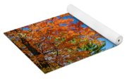 Dueling Maples Yoga Mat