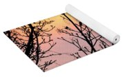 Early Spring Sunset Yoga Mat