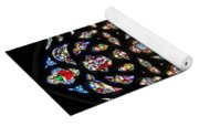 East Stained Glass Window Christ Church Cathedral 1 Yoga Mat