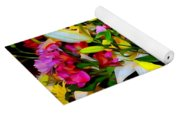 Easter Flowers Yoga Mat