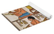 Egyptian Scribes Yoga Mat