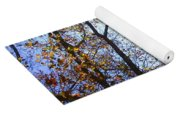 Elegant Fall Yoga Mat