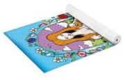 Elephants,cats And Rabbit Dreams Yoga Mat