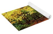 Elora Gorge Campsite In Fall Yoga Mat