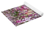 Endless Field Of Flowers Yoga Mat