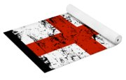 England Gift Country Flag Patriotic Travel Shirt Europe Light Yoga Mat