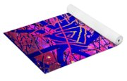 Enigma In Abstraction Yoga Mat