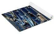 Essaouira Blue Boats Yoga Mat