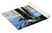 Evening Shadows Yoga Mat