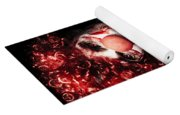 Evil Blood Stained Clown Contemplating Homicide Yoga Mat