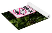 Excessive Property Signs Yoga Mat