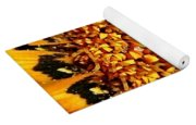 Explosion Of Color  Yoga Mat