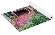 Expressionalism Beautiful Garden  Yoga Mat