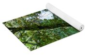 Eyes Over The Flowing Water Yoga Mat