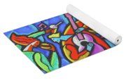 Fabulous Outdoor Party Yoga Mat