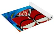 Faces Of Africa Yoga Mat