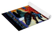 Faerie And Wolf Yoga Mat