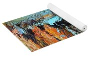 Fall Abstractions Yoga Mat