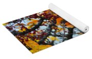 Fall Berries Yoga Mat