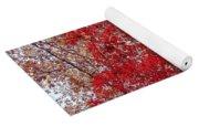 Fall Foilage Yoga Mat