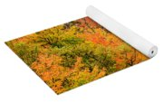Fall Foliage In The Mountains Yoga Mat