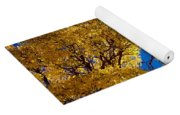 Fall Foliage Near Ruidoso Nm Yoga Mat