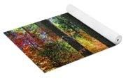 Fall Forest Splendor Yoga Mat