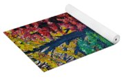 Fall In Quebec Canada Yoga Mat