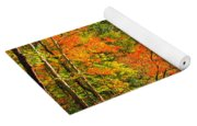 Fall In The Smokey Mountains  Yoga Mat