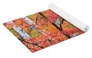 Fall Layers Yoga Mat